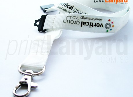 Vertical Group Silk-screen Lanyard