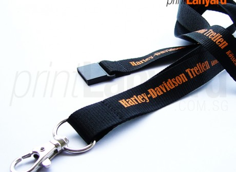 Harley-Davidson Silk-screen Lanyard
