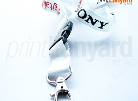 Sony Digital Silk-screen Lanyard