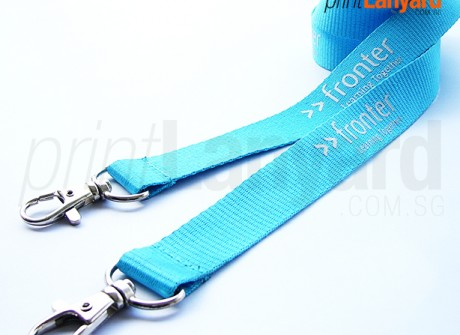 Fronter Silk-screen Lanyard
