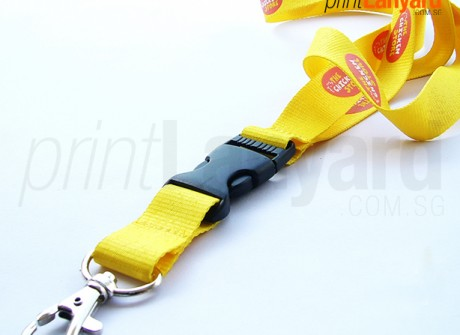 The Chicken Store Silk-screen Lanyard