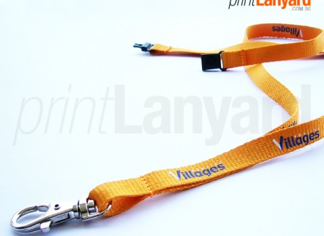 Village Housing Silk-screen Lanyard