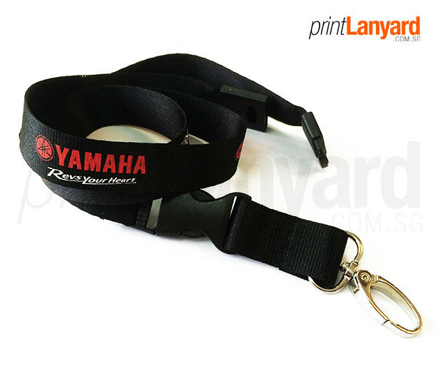 Yamaha Revs Your Heart Silkscreen Lanyard