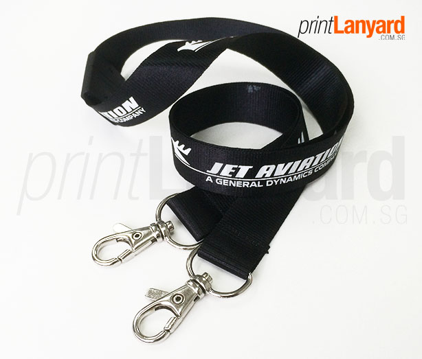 Jet Aviation Silkscreen Lanyard