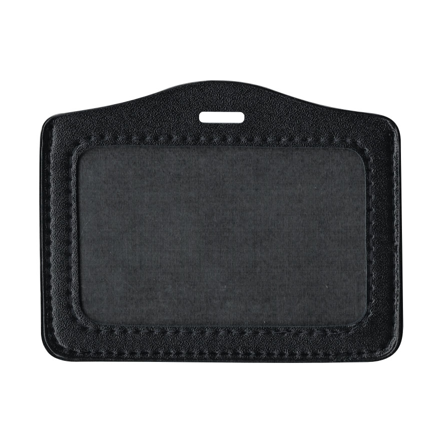 PU Leather Card Holder (Small) - Black