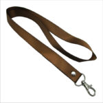 Coffee Brown Lanyard